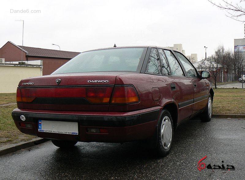 Фотографии автомобилей Daewoo Espero / Дэу Эсперо (1991 - 1999) Седан